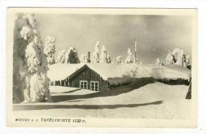 RP, Winter a. d. Tafelfichte 1122m, Czech Republic, 1920-40s
