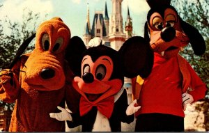 Walt Disney World Mickey Mouse Pluto & Goofy 1972
