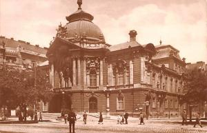 Budapest Republic of Hungary Vigszinhaz Lustspieltheater Budapest Vigszinhaz ...