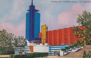 Illinois Chicago 1933 World Fair Carillon Tower Hall Of Science