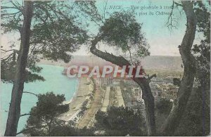 Postcard Old Nice Vue Generale Travers of the Castle Pines