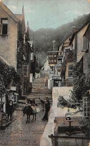 Street in Clovelly, New Inn