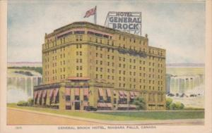Canada Ontario Niagara Falls General Brock Hotel