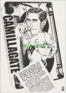 Headline Postcard -Camiliagate -Prince Charles & Camilla Parker-Bowles RR10495