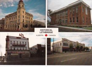 Canada Post Office Galt Museum Alec Arms Hotel & McFarland Building Lethbridg...