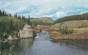 Miles Canyon, WHITEHORSE, Yukon, Canada, 40-60's