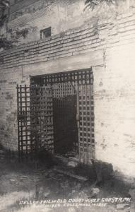 RP, Cell Of Jail In Old Court House, Shasta, California, 1930-1940s