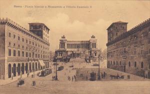 Italy Roma Rome Piazza Venezia e Monumento a Vittorio Emanuele II
