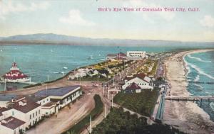 CORONADO , California , 1919 ; Bird's Eye View of Coronado Tent City