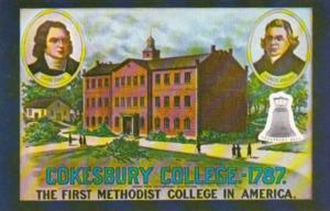 Cokesbury College 1787 First Methodist College In America