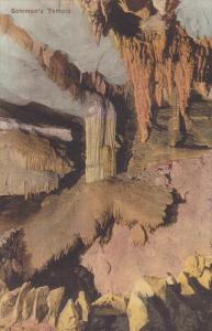 CAVE; Hand-colored, Solomon's Temple, Endless Caverns, Virginia, 00-10s