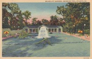 ATLANTA, Georgia, 1930-40s; Briarcliff Gardens, Swimming Pool