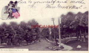 pre-1907 MAIN STREET, LIBERTY, N. Y. 1905