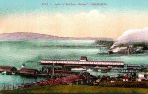 Washington Everett View Of Harbor