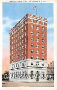 Wayne National Bank Goldsboro, NC, USA Postcard Post Card Goldsboro, NC, USA ...