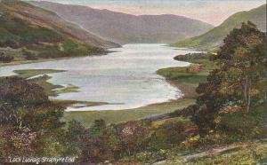 Loch Lubnaig, Strathyre End, Perthshire, Scotland, UK, 1900-1910s