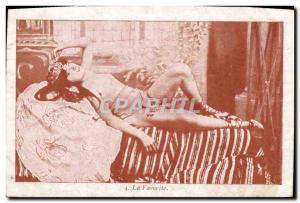 Postcard Old Woman Nude erotic favorite
