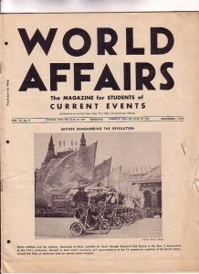 World Affairs Magazine for Students of Current Events 1959 Toronto, Harry But...