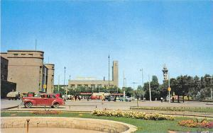 Ankara Turkey Railway Station Gar Casino Parachute Tower Postcard