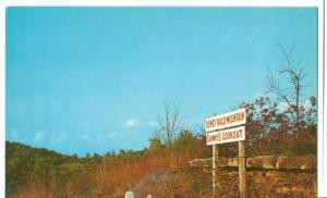 Sammy's lookout on Dewey Bald Mountain, near Branson, Mo