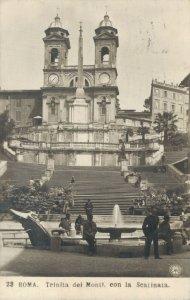 Italy Roma Trinita dei Monti eon la scalinata 04.12