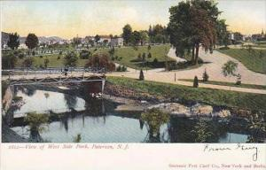 New Jersey Paterson View Of West Side Park