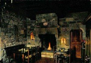 France Interieur Breton Manoir de Moelien Postcard