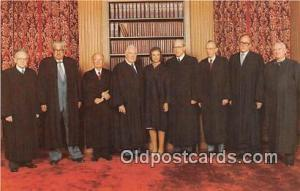 Sandra Day O'Connor Associate Justice of the Supreme Court Political Postcard...
