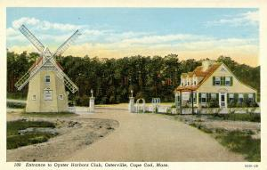 MA - Osterville, Cape Cod. Oyster Harbors Club