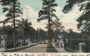 LAKEWOOD, New Jersey, 1909; Georgian Court Grounds