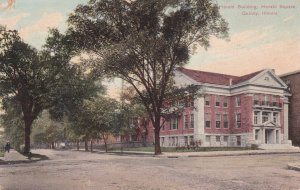 QUINCY, Illinois, PU-1909; Herald Building, Herald Square