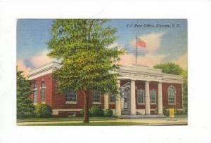 Post Office, Cheraw, South Carolina, 30-40s