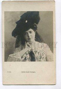 3048244 Furftin Uwoff PARLAGHY Opera Star old PHOTO