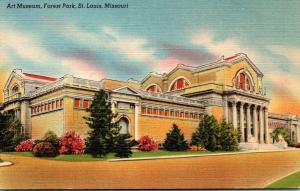 Missouri St Louis Forest Park Art Museum