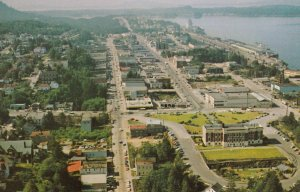 PRINCE RUPERT , B.C. , Canada , 1950-60s ; Aerial View