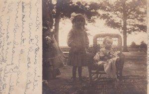 RP: Two children , Georgia , 1900-10s