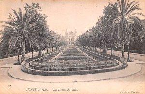 Les Jardins du Casino Monte Carlo Unused