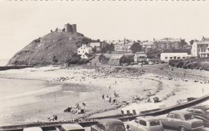 RP: Promenade & Castle , Criccieth, Wales, UK, PU-1962