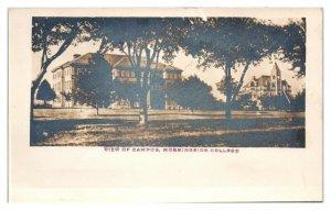 RPPC View of Campus, Morningside College, IA Postcard *6E(3)13