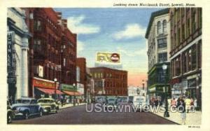 Merrimack St. Lowell MA Unused