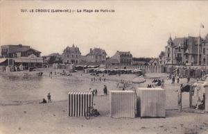 LE CROISIC, Loire Atlantique, France, 1900-1910's; La Plage De Port Lin