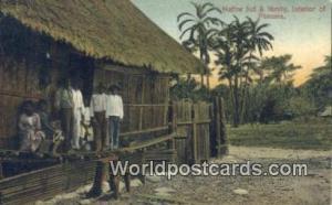 Panama Panama Native Hut & Family