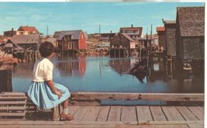 Canada,  Peggy's Cove, Nova Scotia, unused Postcard