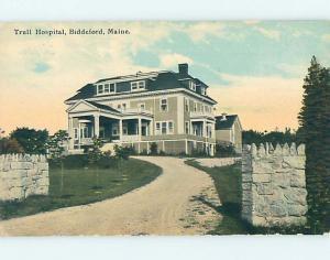 Divided Back HOSPITAL SCENE Biddeford Maine ME hs0846