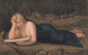 Magdalen - Correggio , 00-10s ; Woman reading a book