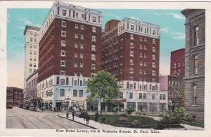 New Hotel Lowry , 4th & Wabasha Streets , ST. PAUL , Minnesota ; 00s-10s