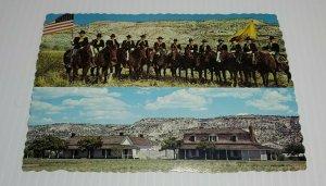 Vintage Postcard Camp Verde Arizona Fort Verde State Park 1985 military outpost