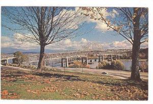 Pattullo Bridge, New Westminster, Britsh Columbia, Canada, 40-60s