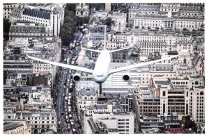 Postcard RAF, Voyager Aircraft RAF100 Parade and Flypast over London 80F
