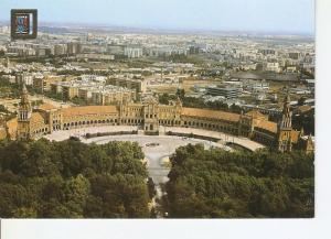 Postal 026554 : Plaza de Espa?, Sevilla